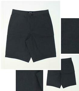 Details about NEW Apartment Apt 9 Men\'s Shadow Stripe Cotton Chino Shorts  Dark Charcoal 32