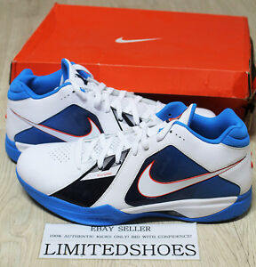 online store c480a 9df34 Image is loading NIKE-ZOOM-KD-III-3-SUPREME-OKC-THUNDER-