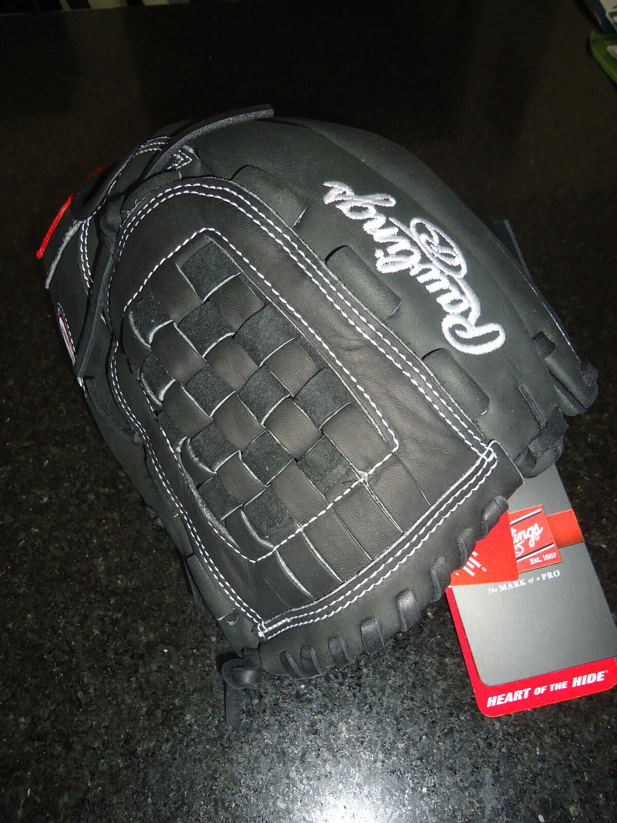 Rawlings Heart of the hide (HoH) PRO566SB-3B Fastpitch Softball guante -12  RH