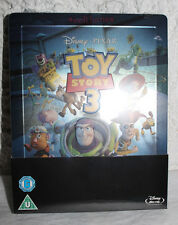 NEW Disney Pixar's Toy Story 3 Blu-Ray Steelbook UK Zavvi Exclusive Region Free