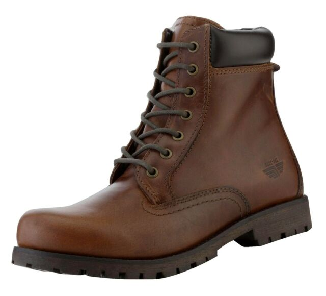 Red Tape Men's Marsland Leather Casual Boots Tan