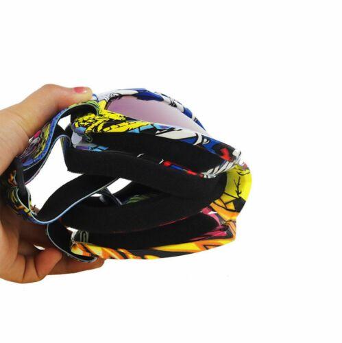 Off-Road Motorcycle Goggles Lunettes Casque Équitation Lunettes Lunettes de protection