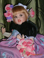 """FAYZAH SPANOS DOLL'' """"MOMMY'S LITTLE BOUQUET''"""", limited to 500 pcs from 2001"""