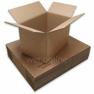 18-x-12-x-12-Strong-Book-Box-Packing-Postal-Mail-Double-Wall-Cardboard-Boxes