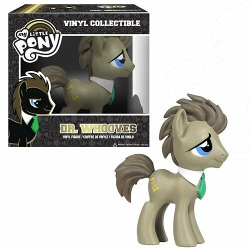 Dr Whooves Hooves My Little Pony Doctor Who Funko - Green Tie Variant