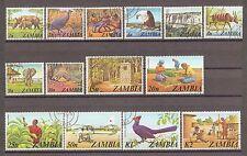 ZAMBIA 1975 226/39 Fine used Cat £17