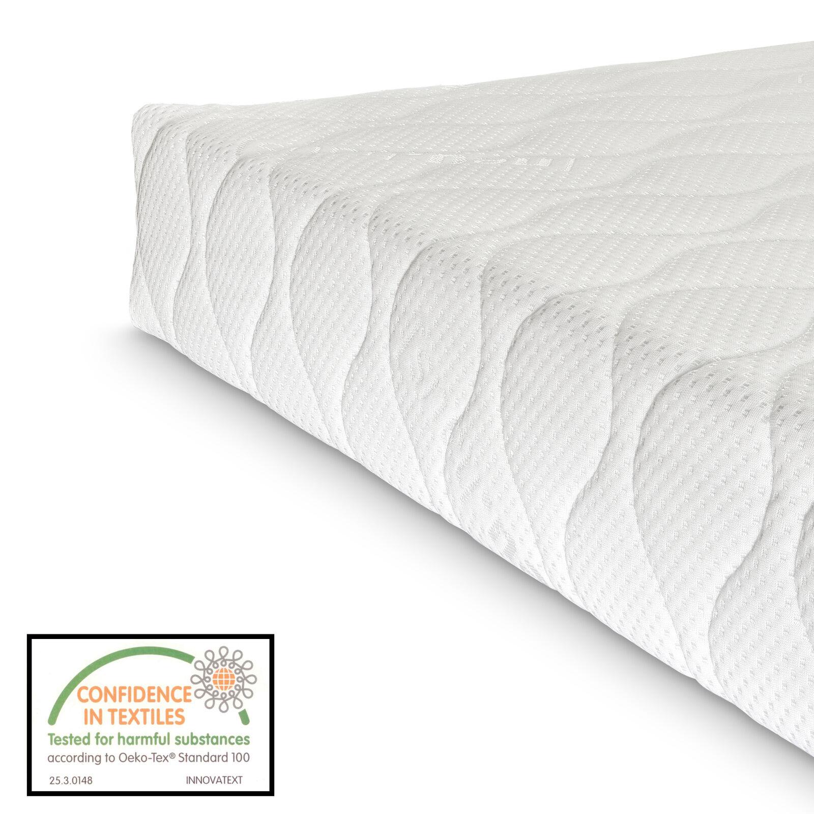 ® Kaltschaum Matratze 120x200 cm Visco Premium Komfort Rollmatratze