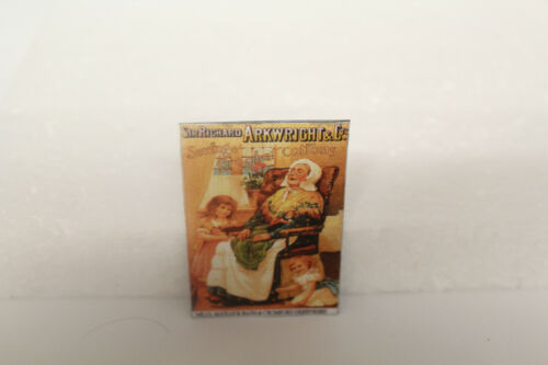 Metal Sign Haberdashery Crochet Cotton DOLLS HOUSE