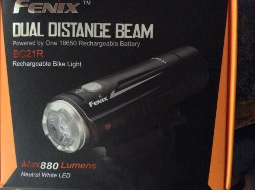 Fenix Flashlights FX-BC21R BC Series Rechargeable LED Bike Light 880 Lumens