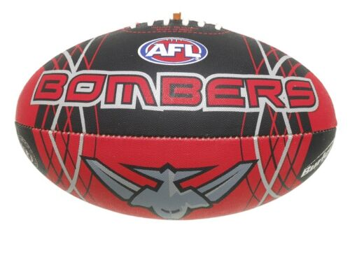 AFL ESSENDON BOMBERS FULL SIZE SYNTHETIC M FOOTBALL BRAND NEW