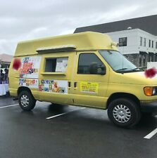 Used Yellow Ice Cream Truck For Sale