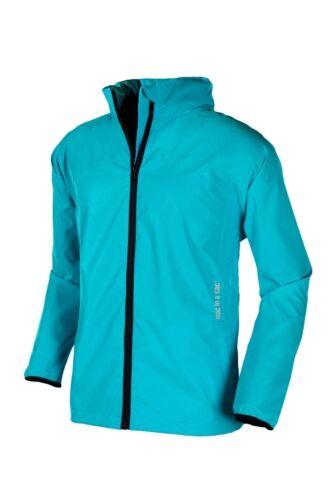 Target Dry Mac In aSac Caribbean Sea Jacket Waterproof Breathable Windproof Hood