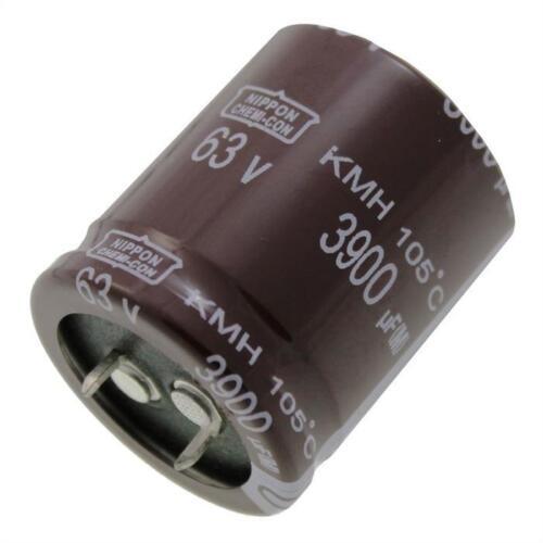2x SNAP-en Elko condensador 3900µf 63v 105 ° C ekmh 630vsn392mr35s; 3900uf
