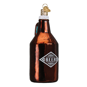 034-Beer-Growler-034-32275-X-Old-World-Christmas-Glass-Ornament-w-OWC-Box