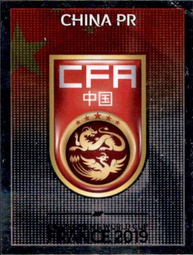 China Wappen Panini Frauen WM 2019 Sticker 119