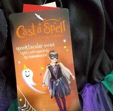 witch swan costume dress haloween party 7-8 years TU BNWT