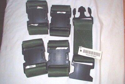 US Army Surplus LBV OD Green Web Pistol Utility Equipment Belt Extender BNB 1