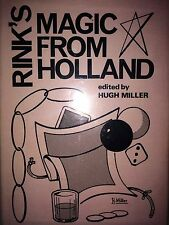 RINK'S MAGIC FROM HOLLAND BY HUGH MILLER *FIRST ED*