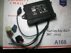 1993 1994 jaguar xj6 xj12 right front lamp relay module dbc12033 a168 ebay. Black Bedroom Furniture Sets. Home Design Ideas