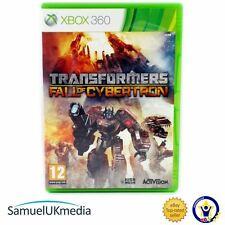 Transformers: la Caída De Cybertron (Xbox 360) ** en un caso totalmente nuevo **