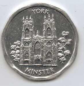 Great Britain 50p National Transport Token York Minster