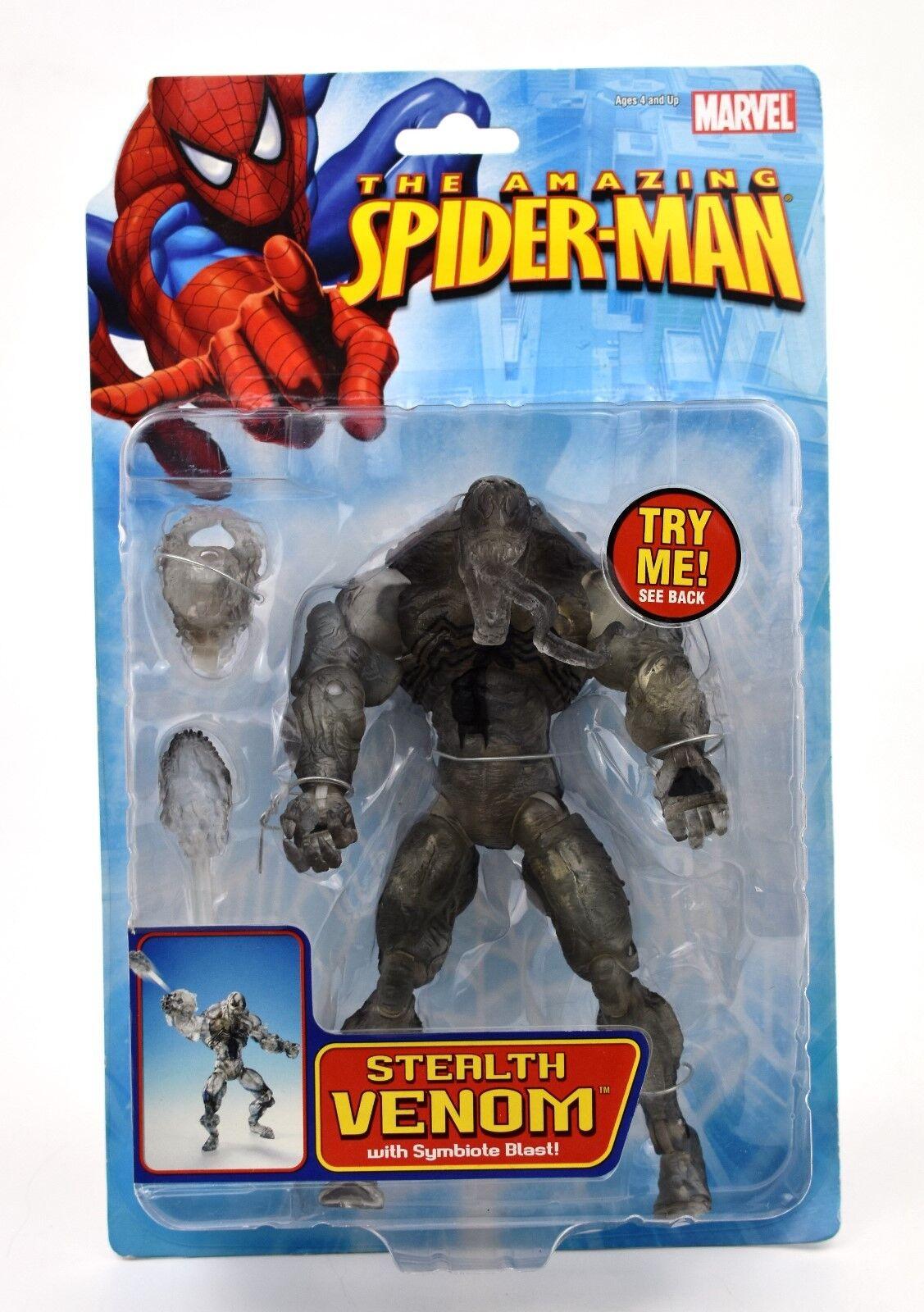 Der amazing spider - man - stealth - gift mit symbiont blast action - figur