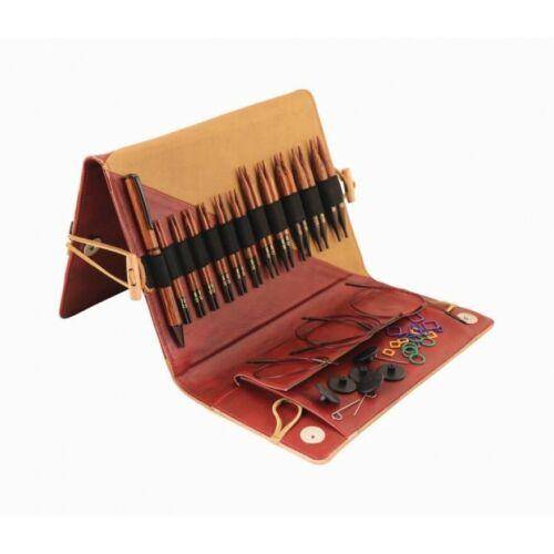 Knitpro Ginger Nadelset Deluxe auswechselbare Nadelspitzen kurz 31282