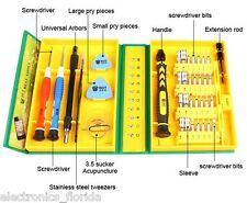 38pcs Universal Repair Tool Kit Mobile Phone iPad Camera Repairing Tools e8921