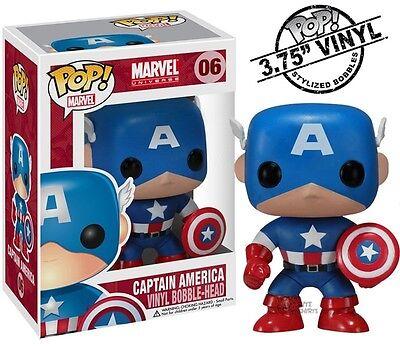Captain America Marvel Comics 06 Funko Pop! Vinyl Figure Brand New