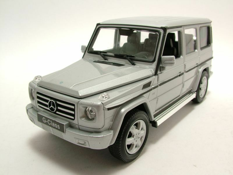 punto de venta en línea Welly 1 24 2012 Mercedes-Benz Mercedes-Benz Mercedes-Benz G-Clase G Wagon Sport Utility Vehicle Diecast Modelo 24012W-SL Plata  autentico en linea
