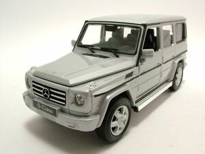 WELLY-1-24-2012-MERCEDES-BENZ-G-CLASS-G-WAGON-SUV-DIECAST-MODEL-SILVER-24012W-SL