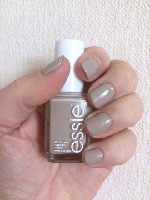 essie Nail Polish Sand Tropez #668 Nude Sandy Beige Lacquer Full Size  Manicure