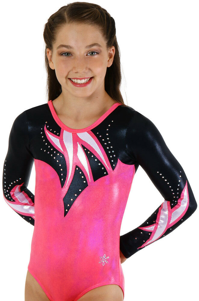 NEW!! Encore Snowflake Gymnastics Competition Leotard by Snowflake Encore Designs d6ff74