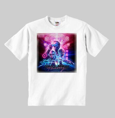 muse Simulation Theory MEN BLACK t-shirt BAND MUSIC shirt clothing unisex