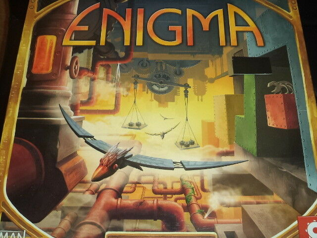 Enigma - Z Spiele Brettspiel Neu