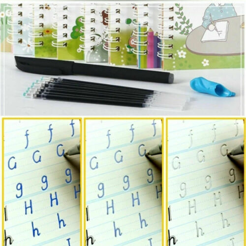 Magic calligraphy that can be reused 4 Books+1 set Pen