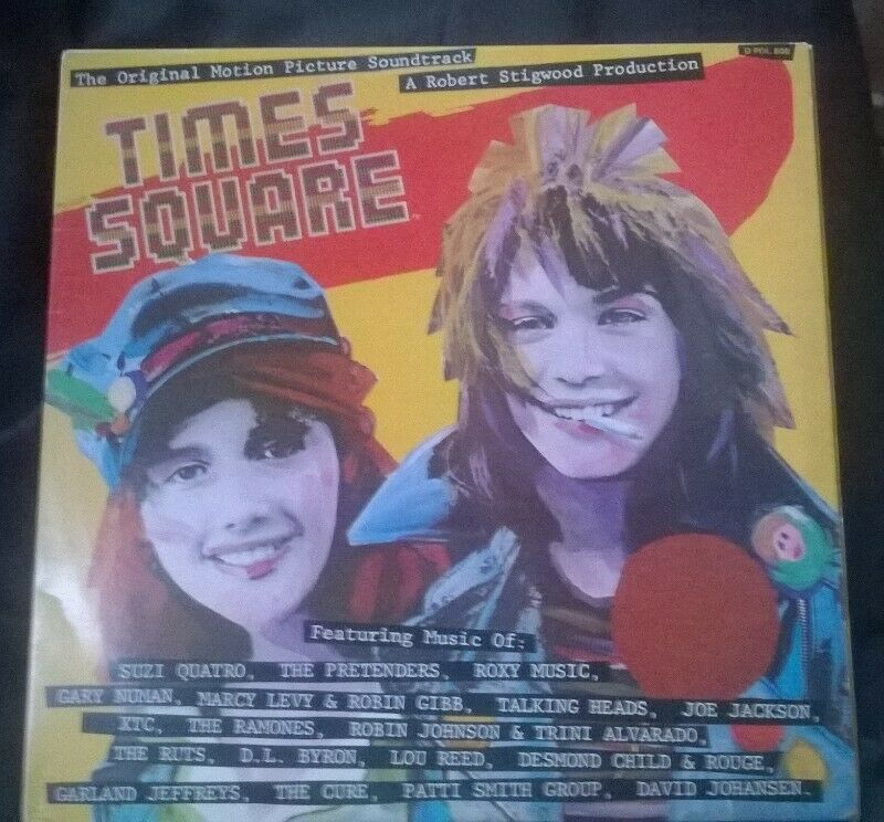 """TIMES SQUARE, FILM SOUNDTRACK  Double 12"""" LP Record. 1980 Classic. Full of hits!"""