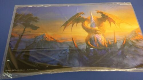 Playmats 1x  Playmat AOM Randis Albion Dragon/'s Castle New Near Mint