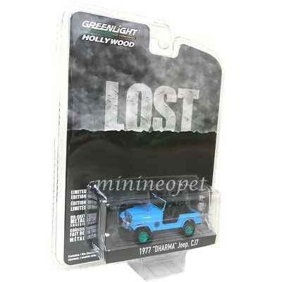 Greenlight Jeep CJ7 1977 Dharma LOST 44810 F 1//64