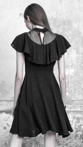 Robe Volant Gothique Dentelle Punkrave Brodé Lolita Patineuse Soirée Princesse 4w6x14qgU