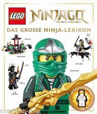 Fachbuch LEGO® Ninjago™, Das große Ninja-Lexikon, gesuchtes Buch, Minifgur Zane