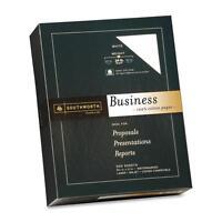 Southworth Business Paper Cotton 24 Lb. 8-1/2x11 500/bx White 14c on sale