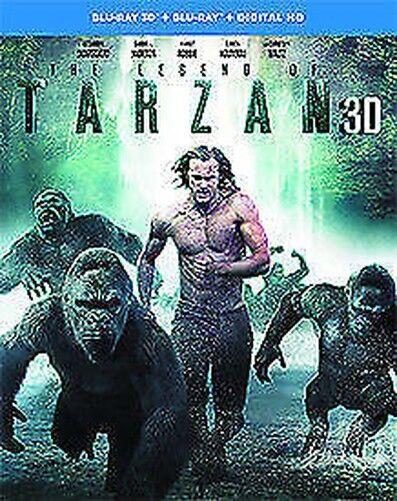 The Legend Of Tarzán 3D+2D Blu-Ray Nuevo Blu-Ray (1000589285)