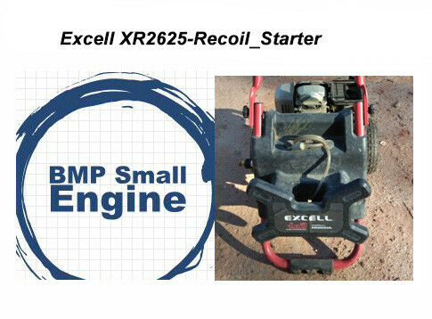Recoil Pull Starter For 5.0HP Excell XR2625 Pressure Washer 2600PSI 2.5GPM Honda