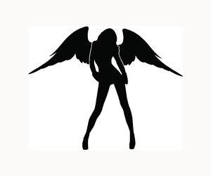 Angel-Sticker-Sexy-Car-Window-Decal-Hot-Vinyl-Laptop-Cute-Gift-Woman-Wings-S3