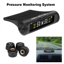 Pressure Monitoring System Solar Power Digital Lcd Display Car Auto Security