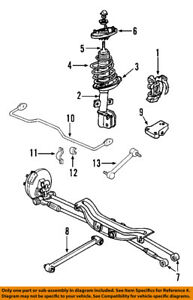 details about pontiac gm oem 05 08 grand prix rear suspension strut 25853345 Car Suspension Diagram