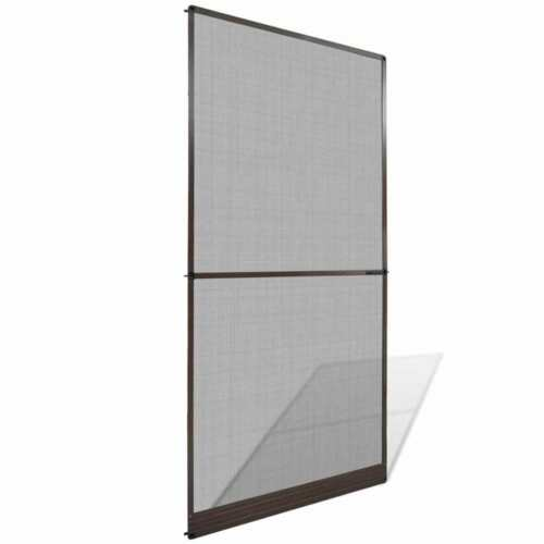 Aluminium Frame Hinged Insect Screen Home Mesh Pest Mosquito Net Panel for Doors