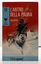 X3 29 L'ANTRO DELLA PAURA - JOE DEVER - LIBRO GAME COLLANA LUPO SOLITARIO N. 9