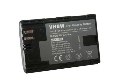 Original VHBW ® batería con info chip para Canon EOS 5d Mark II eos 7d 7-d